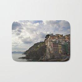 A taste of color and culture in Cinque Terre Bath Mat