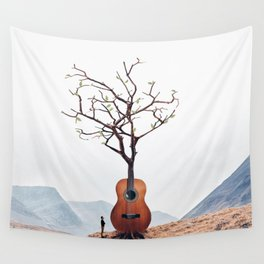 Guitar Tree Wall Tapestry