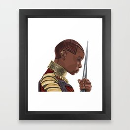 Okoye Framed Art Print