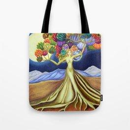 Grace in Full Bloom Tote Bag