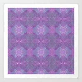 Lavender Pattern Art Print