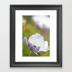 Pure Petals Framed Art Print