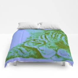 Truffle (Blue) Comforters