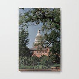 Maryland State House Metal Print