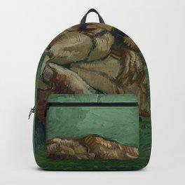 Vincent van Gogh - A Crab on its Back (1888) Backpack