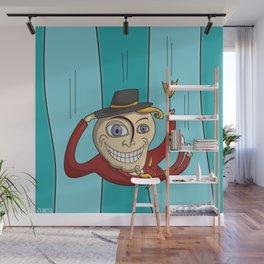 Falling Man Wall Mural