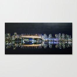 Vancouver Skylines Canvas Print