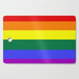 Gay pride flag Cutting Board