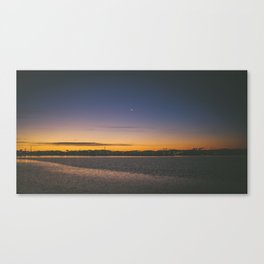 Christchurch Sunset Canvas Print