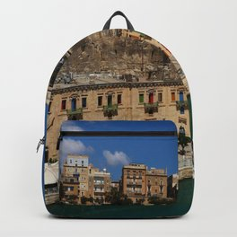 Valletta Harbor Backpack