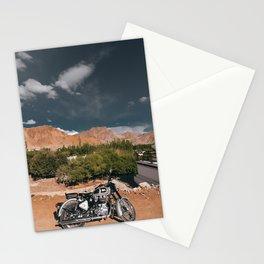 Bike Ride in Ladakh Stationery Cards