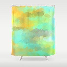 Sunset Water Shower Curtain