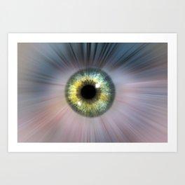 Eye Cosmic Art Print