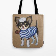 Chihuahua - Sailor Chihuahua Tote Bag