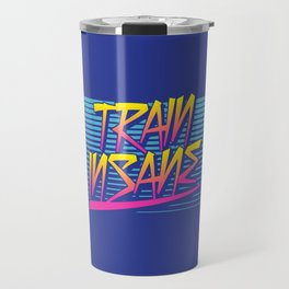 Train Insane Retro Travel Mug