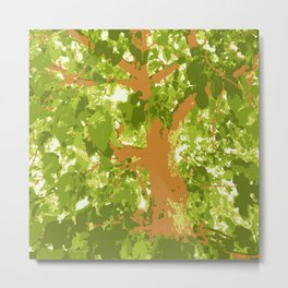 Mulberry-tree, Strawberry tree, mulberry, strawberry, tree, autumn, fall, leaves, leaf, xmas, holiday, holidays, green, Metal Print
