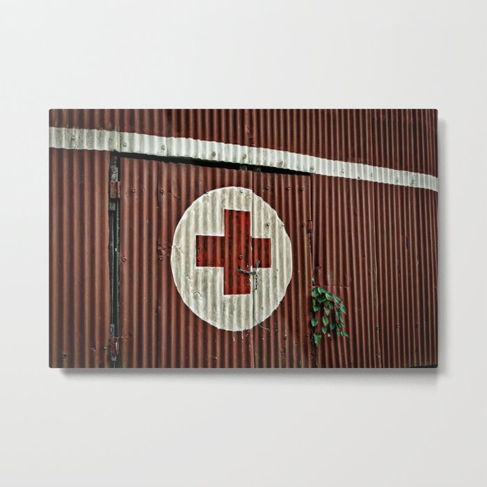 In Need of Aid Metal Print