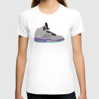 air jordan T-shirts featuring Air Jordan 5 by Dennis Cortes