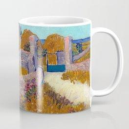 Vincent van Gogh Farmhouse in Provence Coffee Mug