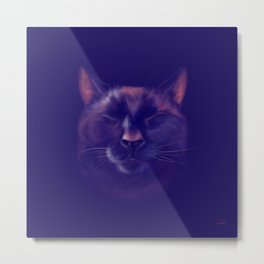 The Refined Bear Metal Print