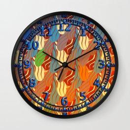 Clawed (Terra Cotta) Wall Clock