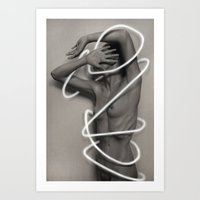 Retrogression Art Print