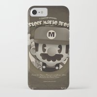 mario bros iPhone & iPod Cases featuring Mario Bros Fan Art by danvinci
