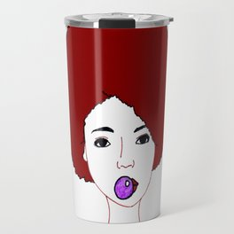 Revolution - red Travel Mug