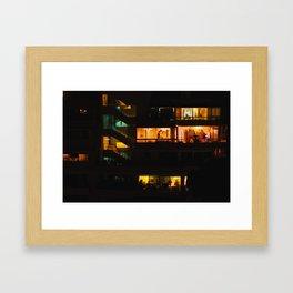 Peep Framed Art Print