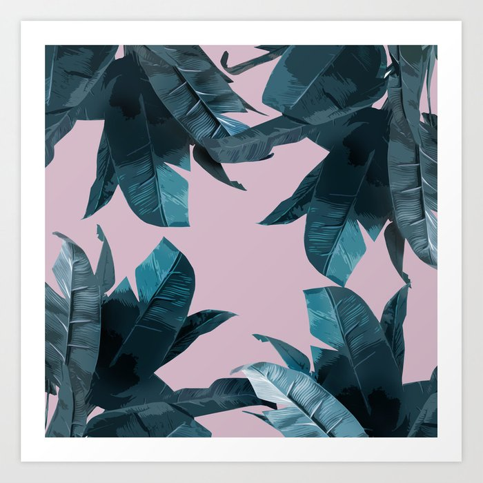 Tropical Palm Print #2 Art Print