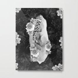 fox skull Metal Print