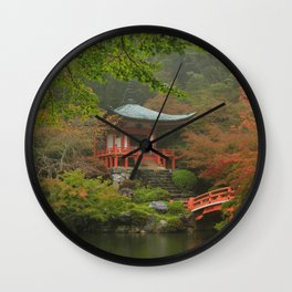 Hidden Japanese Temple Wall Clock