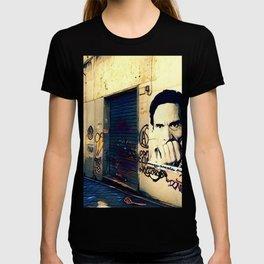 Street Art Pasolini in Rome T-shirt