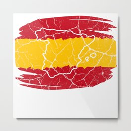 Spain Spanish gift Madrid Barcelona Iberia Metal Print