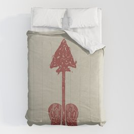 Arrow on the Doorpost Comforters