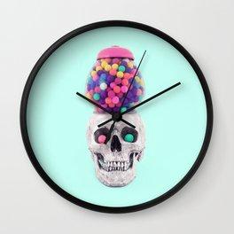 BUBBLESKULL Wall Clock
