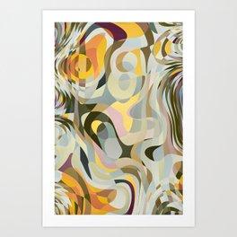 Cold Convergence Art Print