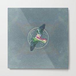 Cosmic Bird Metal Print