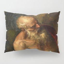"Veronese (Paolo Caliari) ""Saint Jerome meditating"" Pillow Sham"