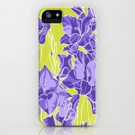 Gladiolas iPhone Case