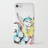 thor iPhone & iPod Cases featuring Thor by Josh Ln