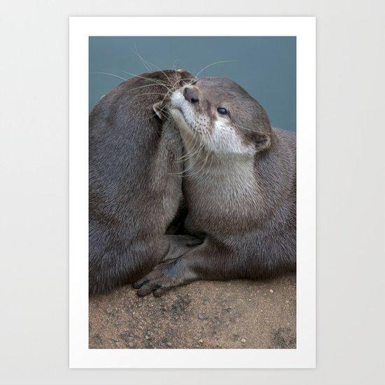 Big Hugs Art Print