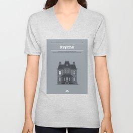 Horror Film Houses 01 Unisex V-Neck