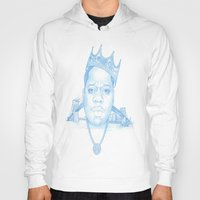 notorious Hoodies featuring Notorious by Michael Villalobos