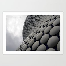 Wall Of Disks Art Print