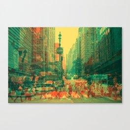 Rat Race #2 Canvas Print