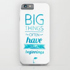 Big Things Slim Case iPhone 6s