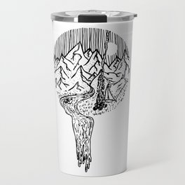 Mountain Campfires Travel Mug