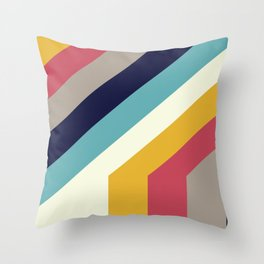 Back to 70's Throw Pillow