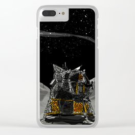 The quest for the Moon Clear iPhone Case
